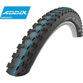"""SCHWALBE Fat Albert Rear Folding Tyre 29"""" Addix Speedgrip SnakeSkin TL-Easy"""